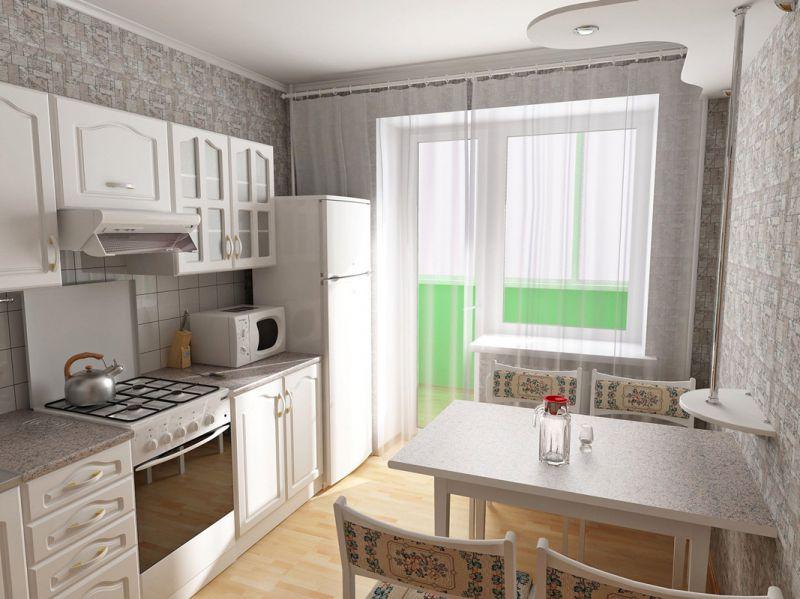 Ремонт на кухне 6 кв. м: фото секреты успешной реализации