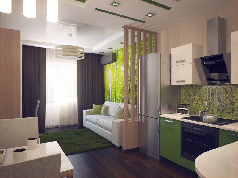 Ремонт однокомнатной квартиры 40 кв фото дизайн