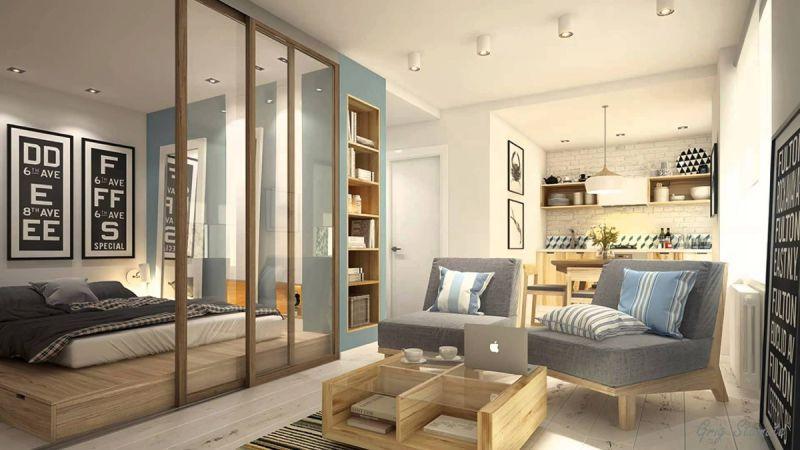 Ремонт 1-комнатной квартиры под ключ ЖК 45