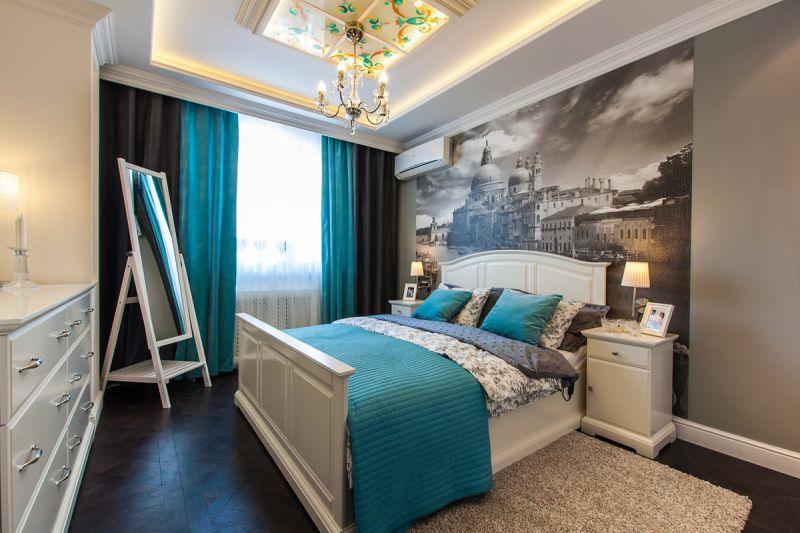 Ремонт спальни 15 кв м фото