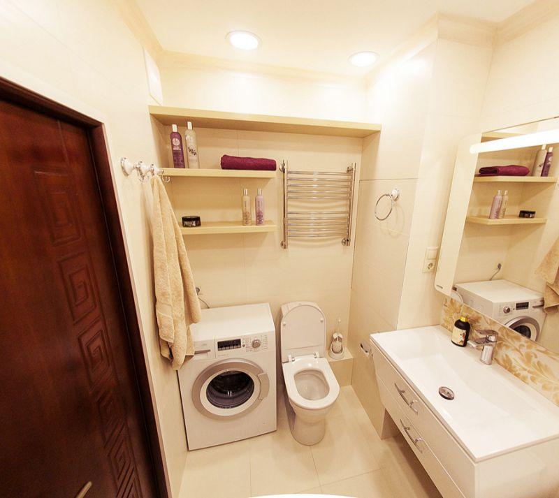 Ремонт в ванной п44т фото