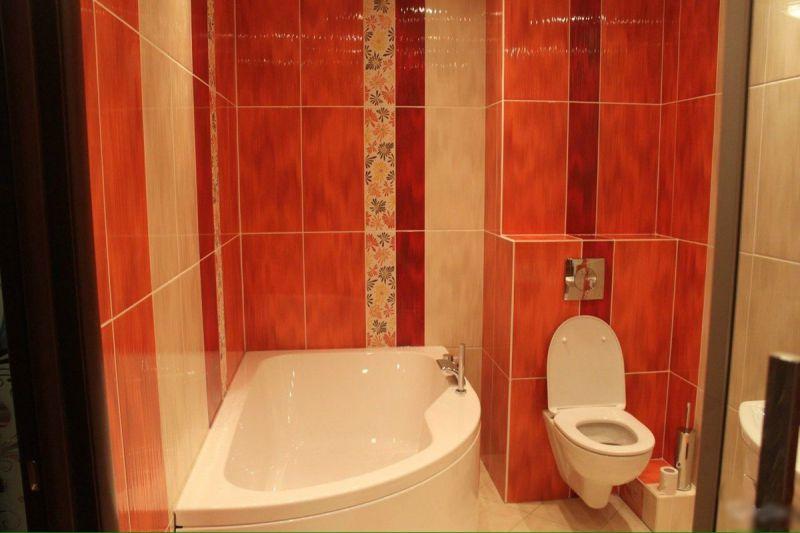 Ремонт ванной комнаты фото 3 кв м