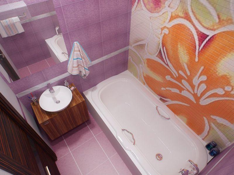 Ремонт ванной комнаты фото 4 кв