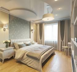 Фото ремонта в спальне 16 кв м