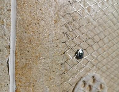 набивка металлической сетки