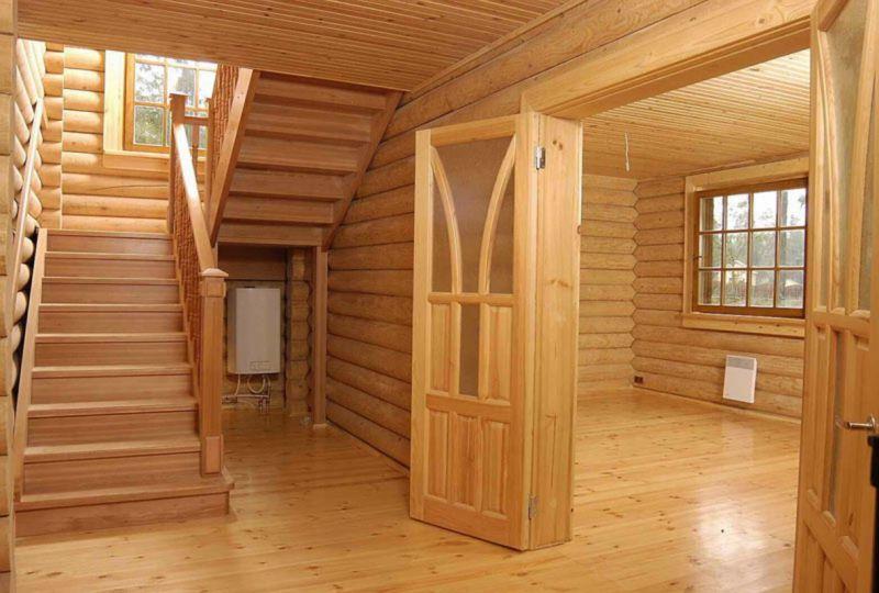 Фото лучших идей дизайна с отделкой вагонкой внутри дома