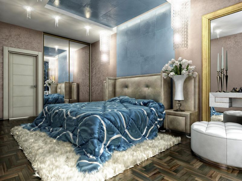 Идеи для ремонта спальни гостиной
