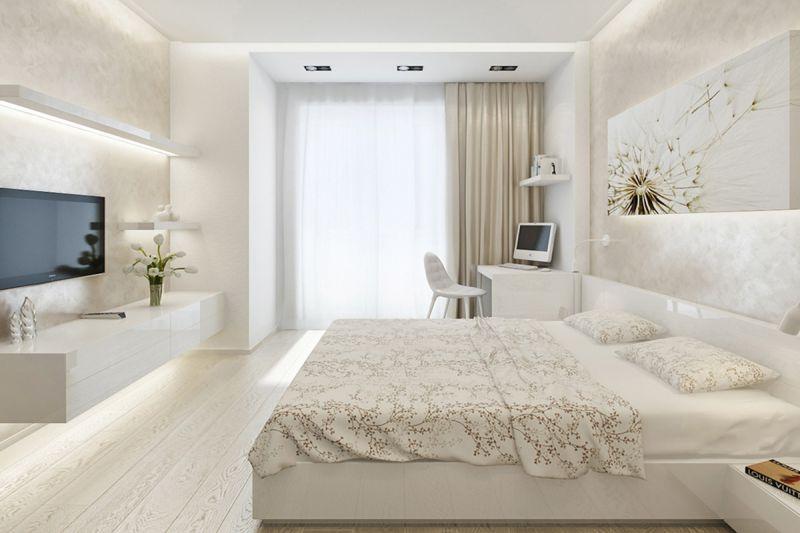 Ремонт спальни 18 кв м фото