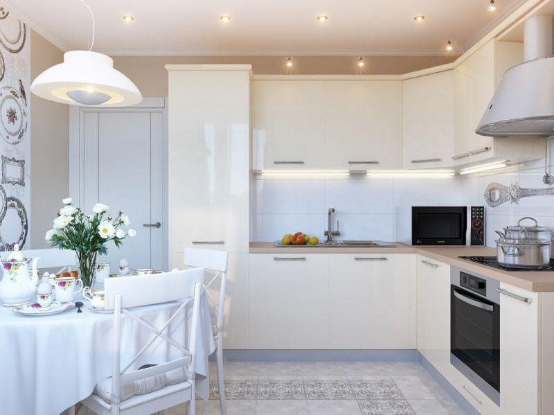 Ремонт кухни 9 кв м фото