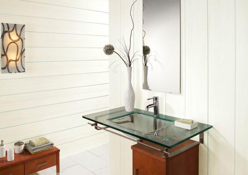 Ремонт в ванной комнате панелями пвх фото