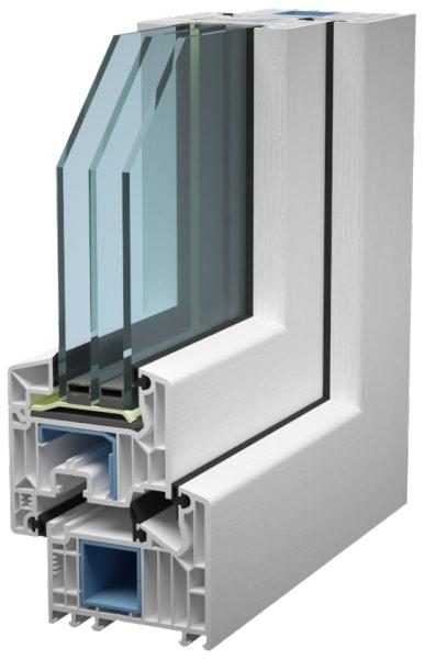 инновационные энергоэффективные пластиковые окна серия oftline