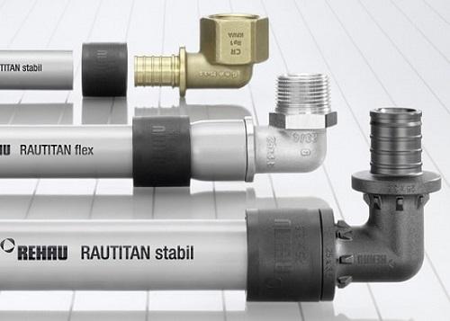 Прокладка труб для водоснабжения rehau rautitan